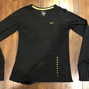 Nike DriFit Livestrong Long Sleeve Shirt